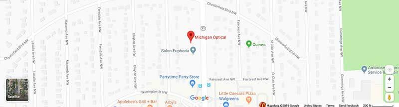 Michigan optical map