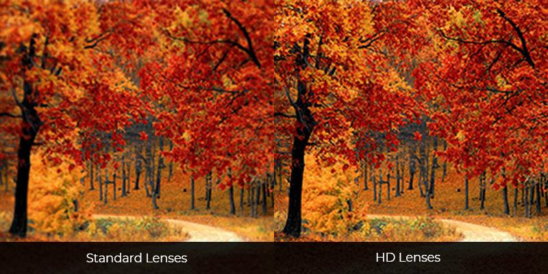 Standard Lenses vs HD Lenses