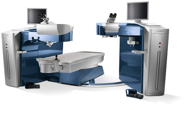The Alcon Wavelight® EX500 Machine